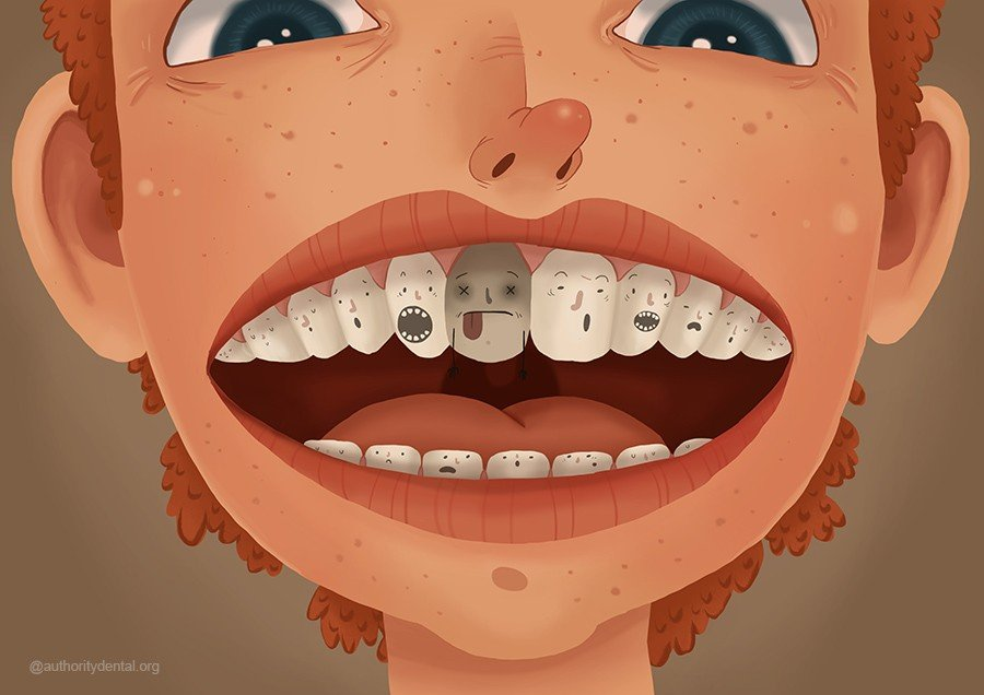 what does your Crumbling teeth dreams means