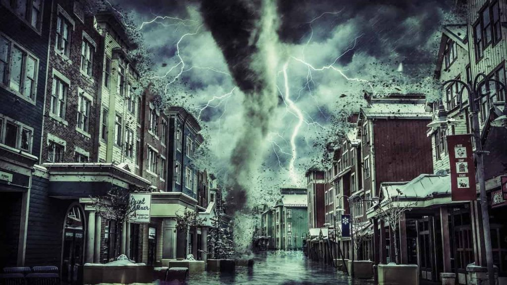 Meaning of tornado in dream