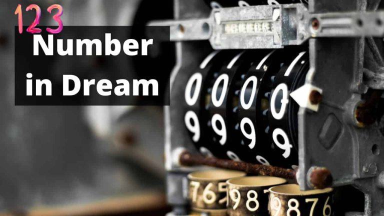 Number in dream meaning and interpretation