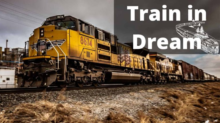 What does it mean when you dream about travelling by train?