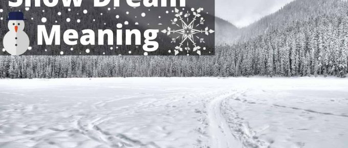 Snow Dream Meaning | Regular Dream