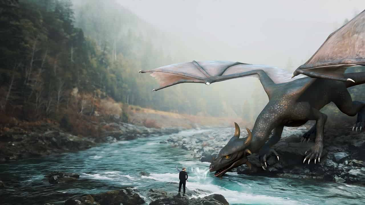 Dragon in dream meaning and interpretation