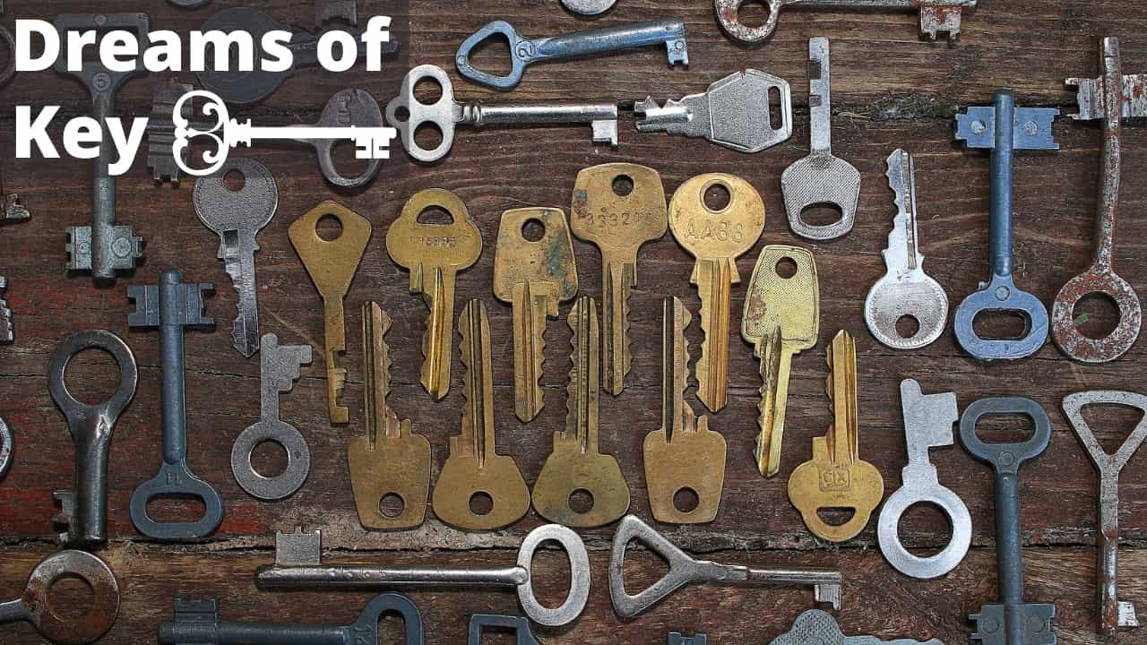 Dreams about keys - meaning and interpretation - What dream about keys really means