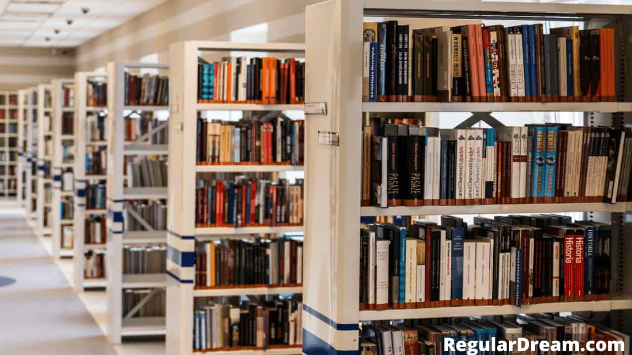 Dream about Working in a library - What does this dream means