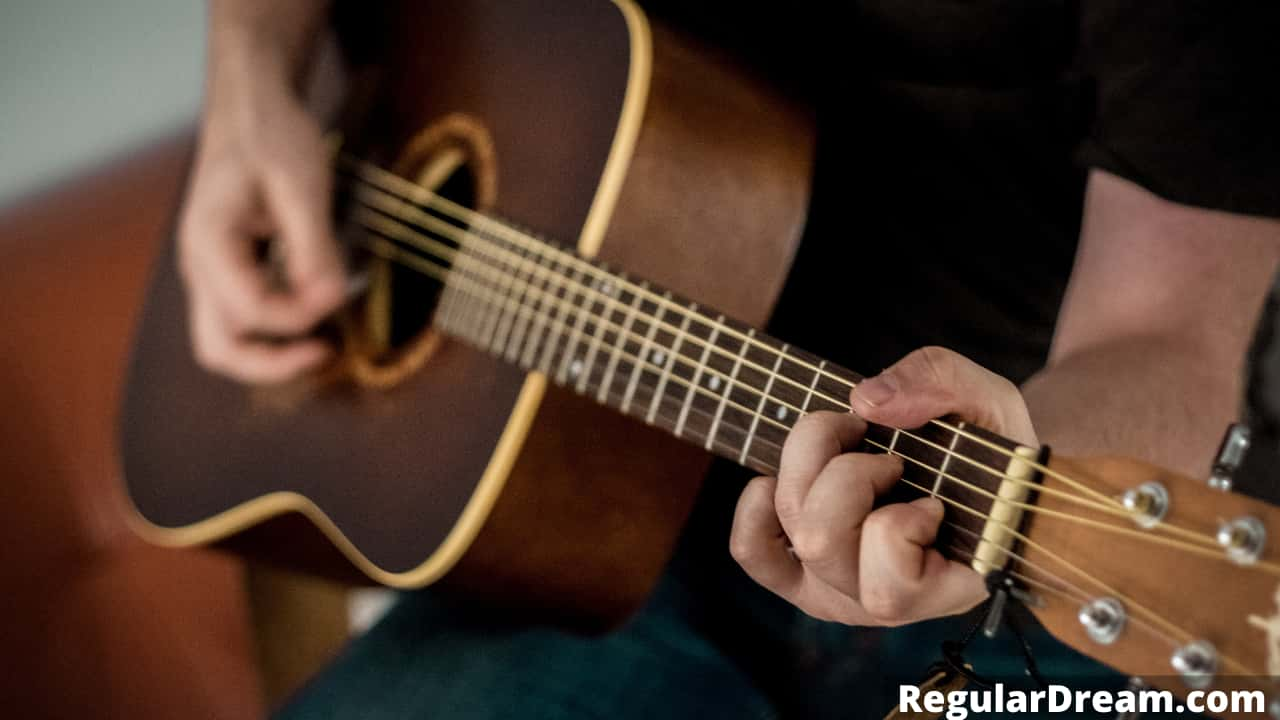 Dream of Guitar's pick - Meaning, Information and information