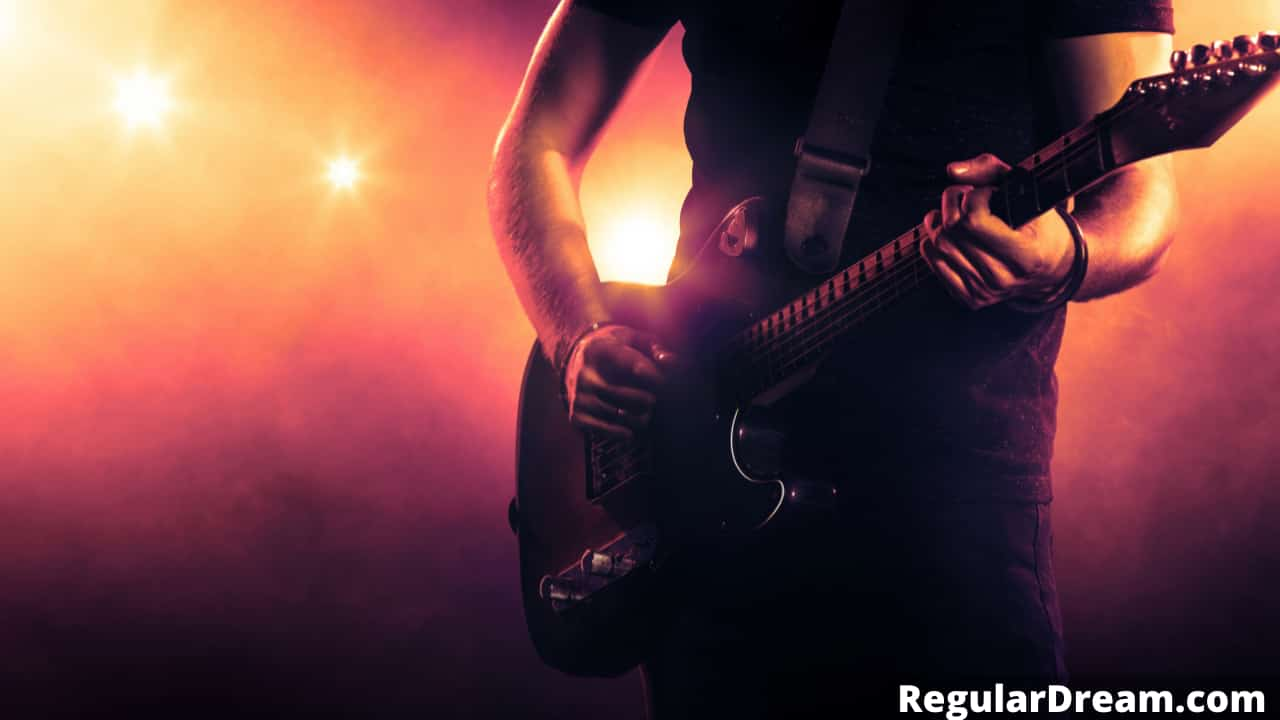 Dream of someone giving you a guitar - What does guitar dream mean