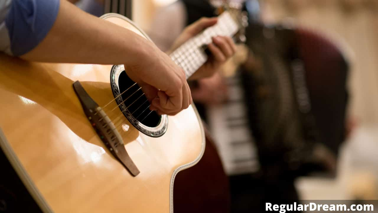Guitar in Drem - Meaning, Interpretation and Symbolism