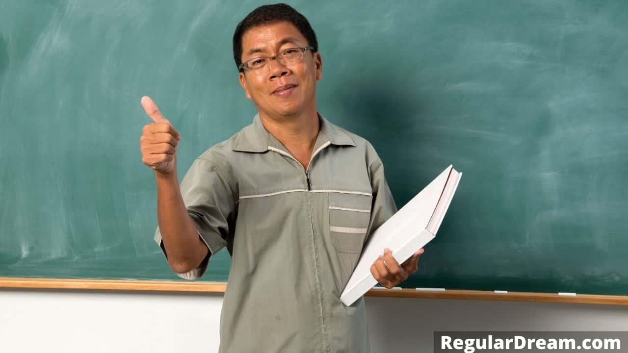 Seeing a school Teacher friend in a dream