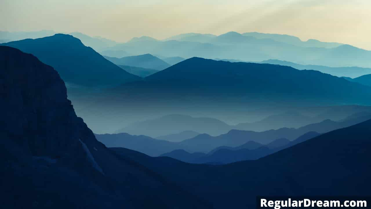 Spiritual meaning of mountain dream - What mountain in dream means