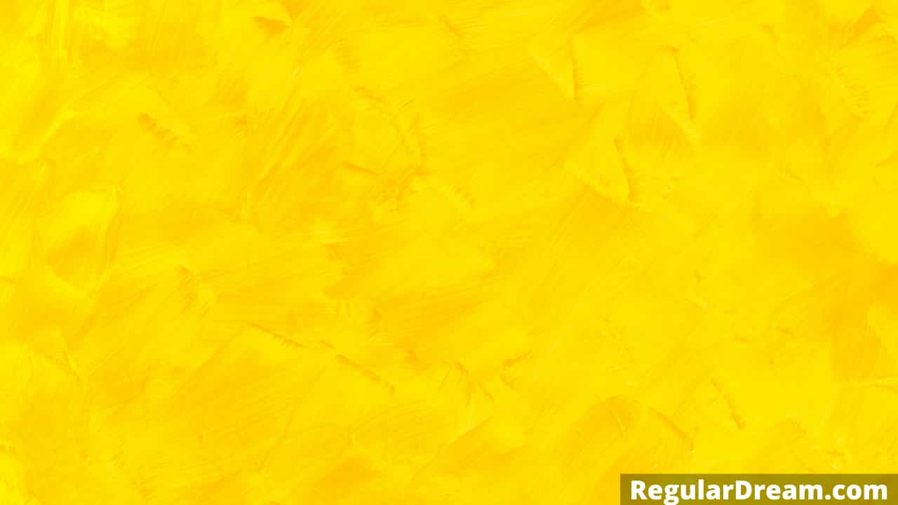 What does dream about yellow color means? Sign, Symbolizm and Interpretation