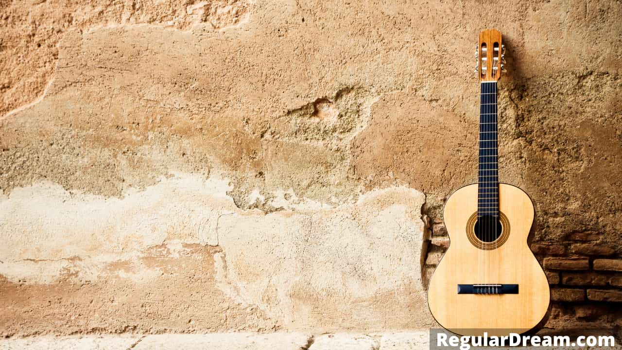 Why do I keep dreaming about Guitar? Meaning,sign and symbol
