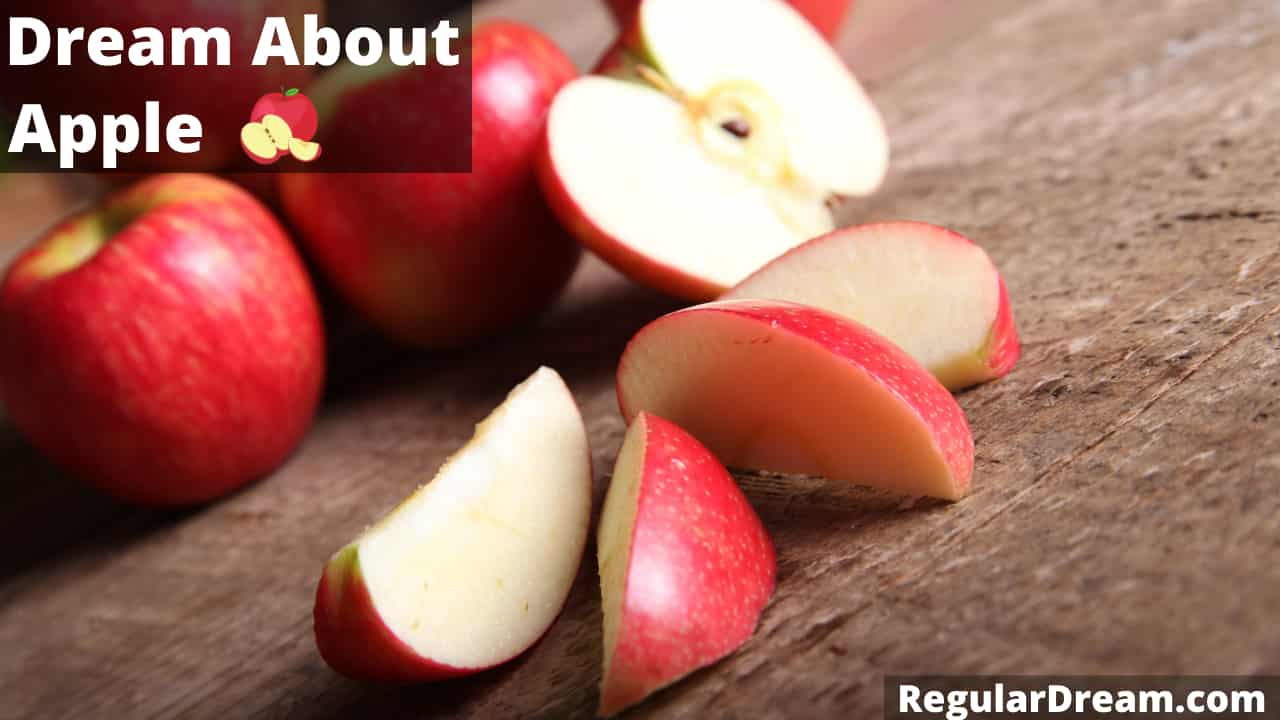 Dream about apples - Meaning, interpretation and symbolism