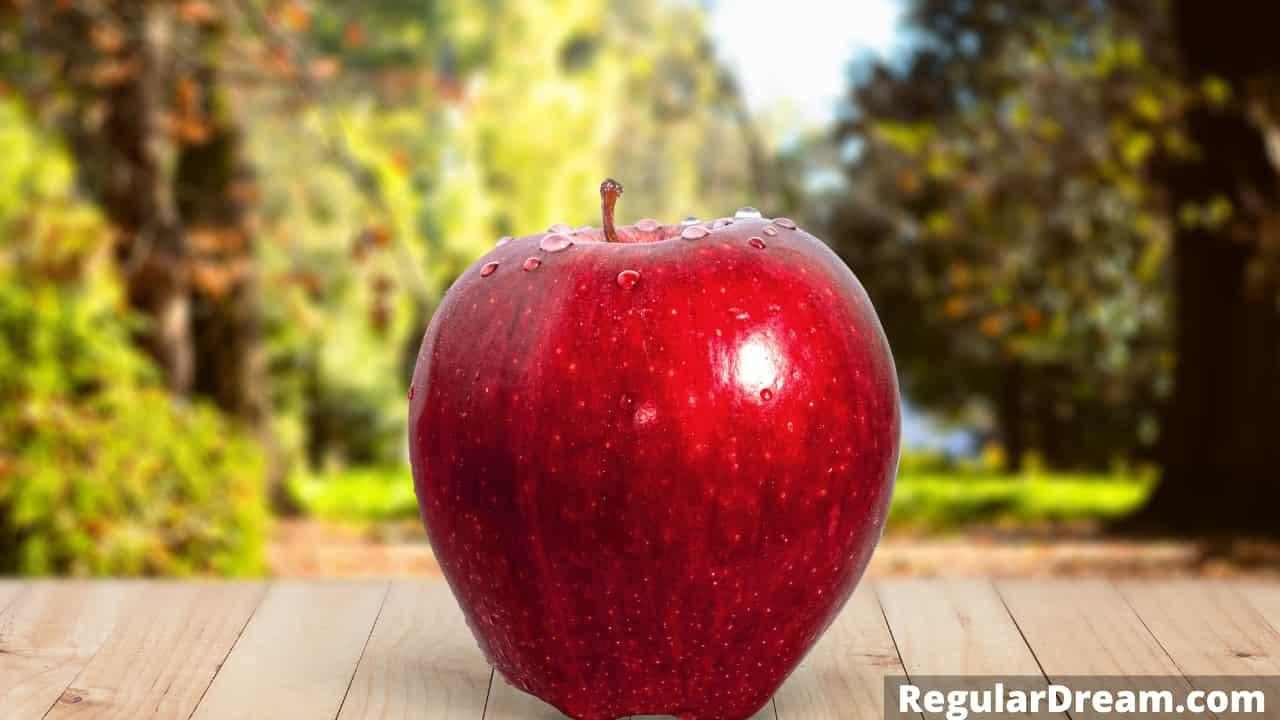 Dream interpretation of Apple - What does Apple symbolise in dream